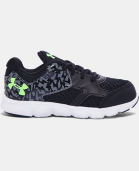 New Arrival Boys' Infant UA Thrill Running Shoes  2 Colors $35.99