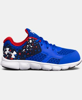 Boys' Infant UA Thrill AC Running Shoes  2 Colors $53.22