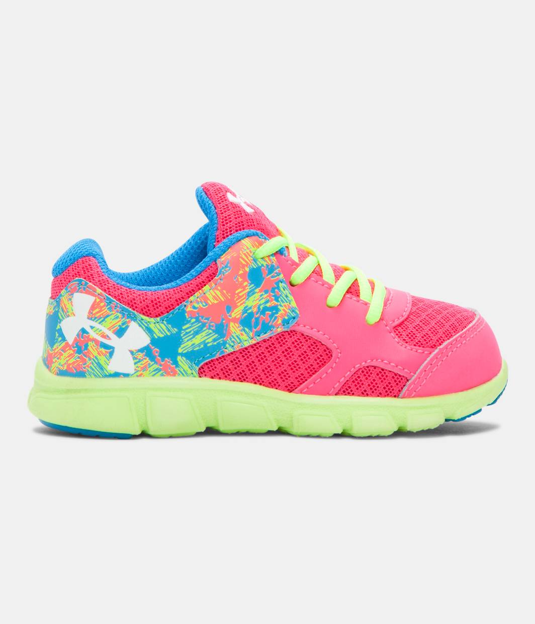 Girls Infant Ua Thrill Running Shoes Under Armour Us