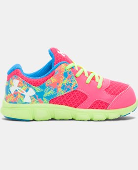 Girls' Infant UA Thrill Running Shoes  1 Color $35.99