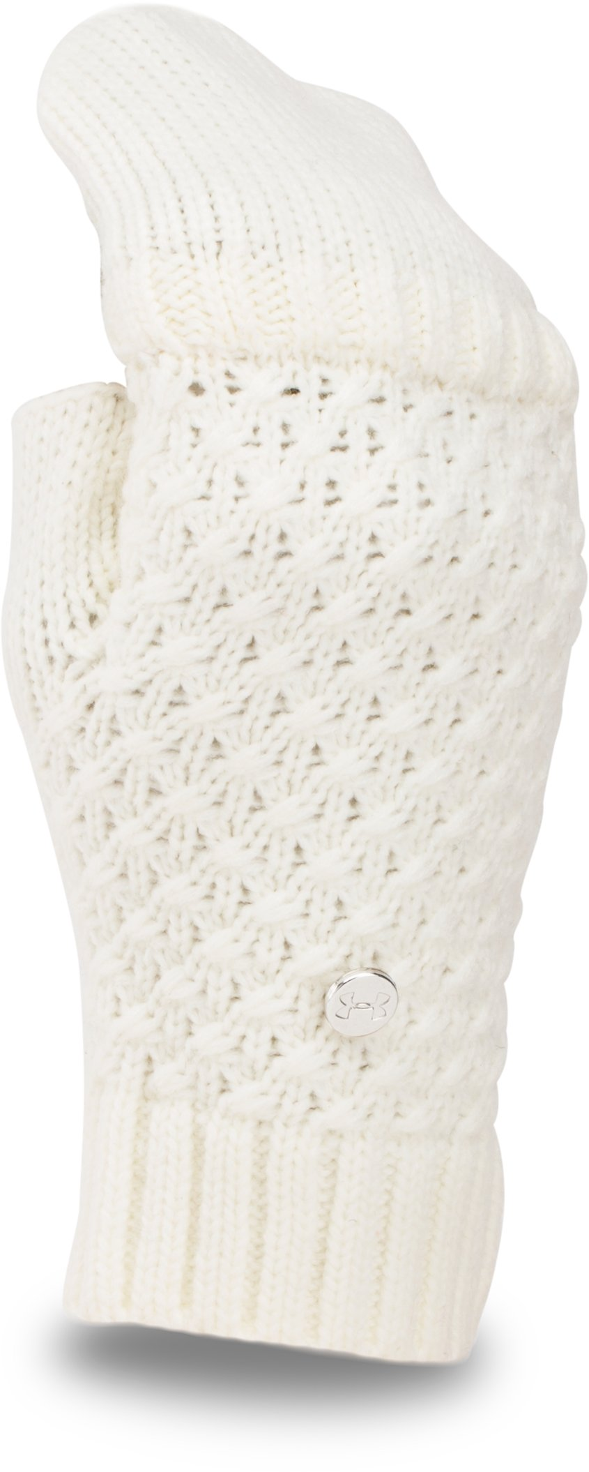 Women's UA Coffee Run Glove, Ivory,