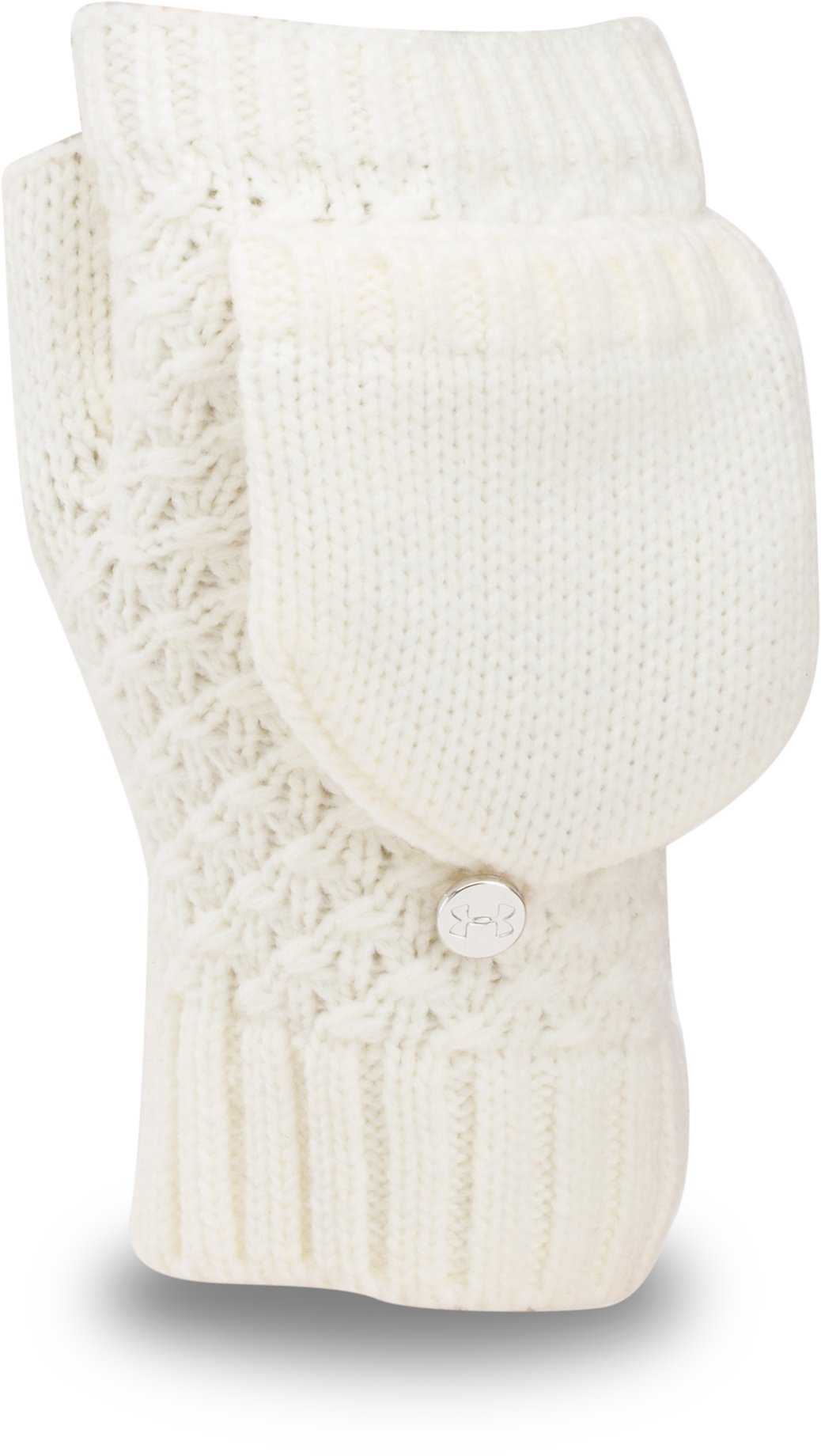 Women's UA Coffee Run Glove, Ivory