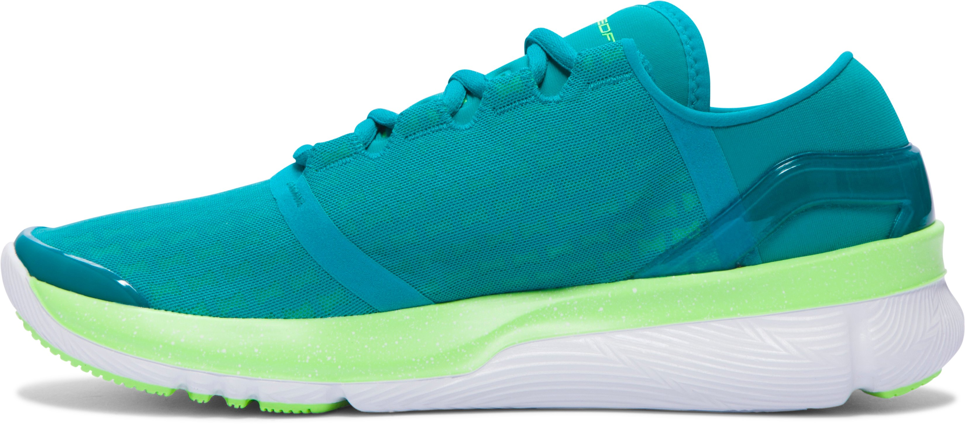 Women's UA SpeedForm® Apollo 2 Clutch Running Shoes, TAHITIAN TEAL, undefined