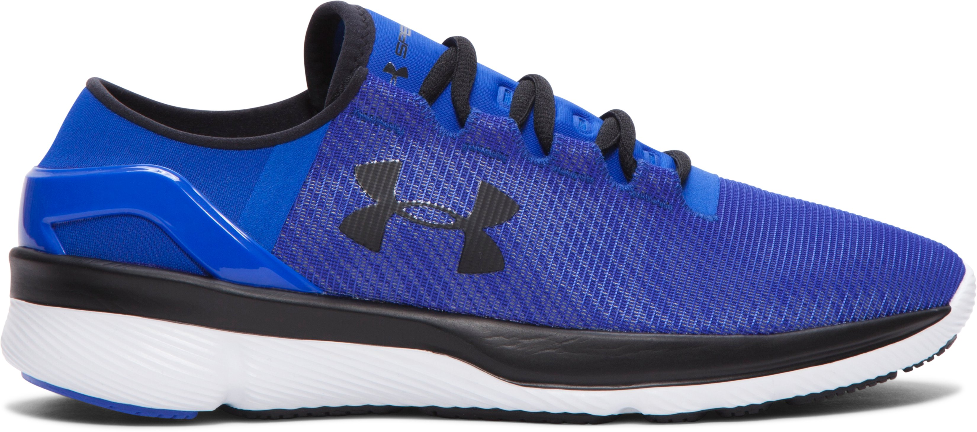 Boys' Grade School UA SpeedForm® Apollo 2 Reflective Running Shoes, TEAM ROYAL, zoomed image