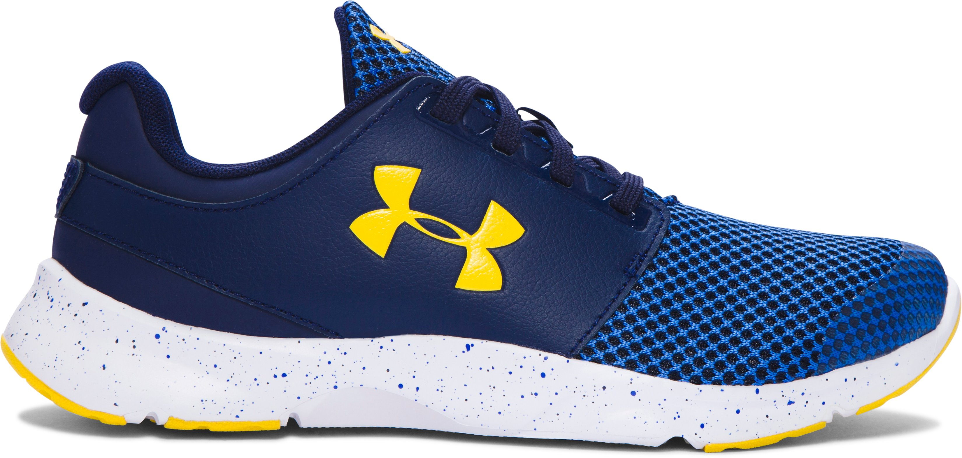 Boys' Grade School UA Drift Running Shoes, TEAM ROYAL
