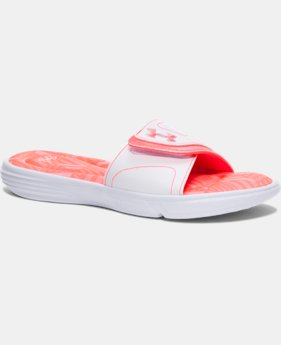 Women's UA Ignite Finisher VII Slides   $34.99
