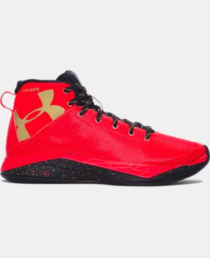 Boys' Grade School UA Fireshot Basketball Shoes LIMITED TIME: FREE U.S. SHIPPING 1 Color $67.99