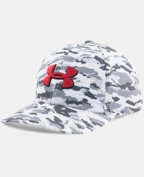 Men's UA Snow Camo Stretch Fit Cap