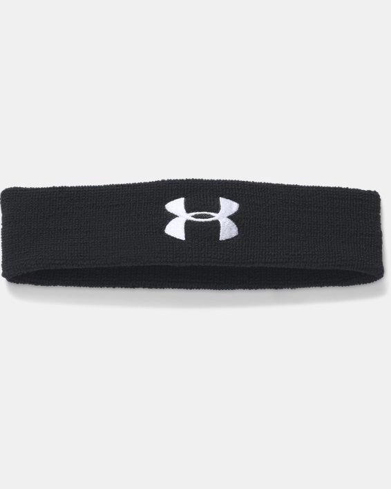 Men's UA Performance Headband, Black, pdpMainDesktop image number 0