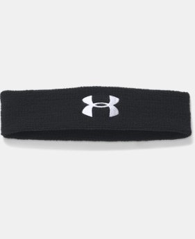 Best Seller Men's UA Performance Headband  1  Color Available $5.99
