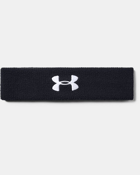 Men's UA Performance Headband, Black, pdpMainDesktop image number 1