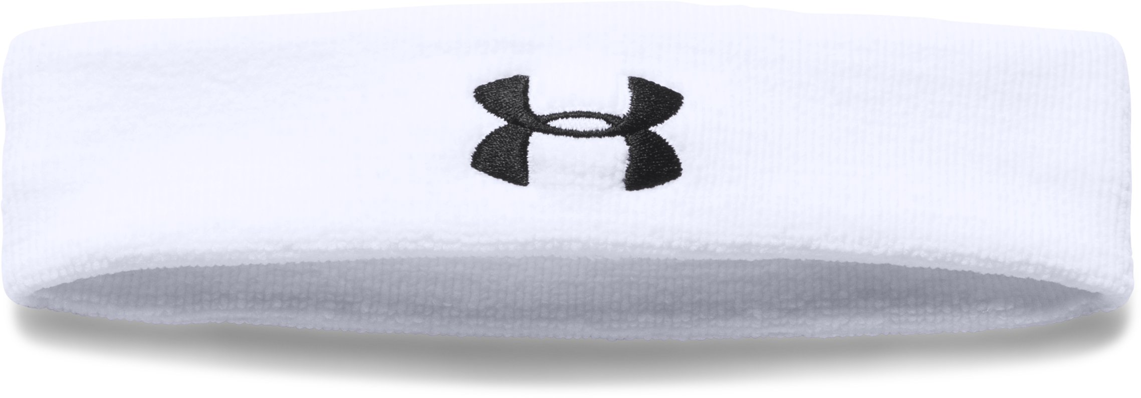 Men's UA Performance Headband, White,