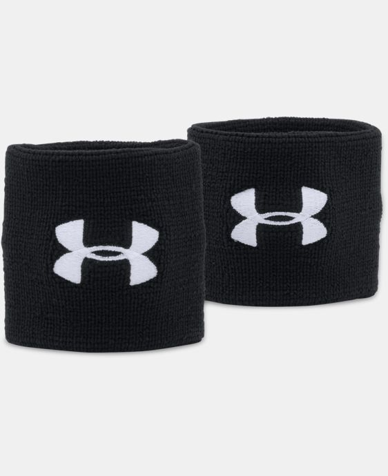 "Men's UA 3"" Performance Wristbands LIMITED TIME: FREE SHIPPING 1 Color $9.99"
