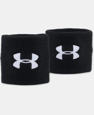 "Men's UA 3"" Performance Wristbands  4 Colors $9.99"