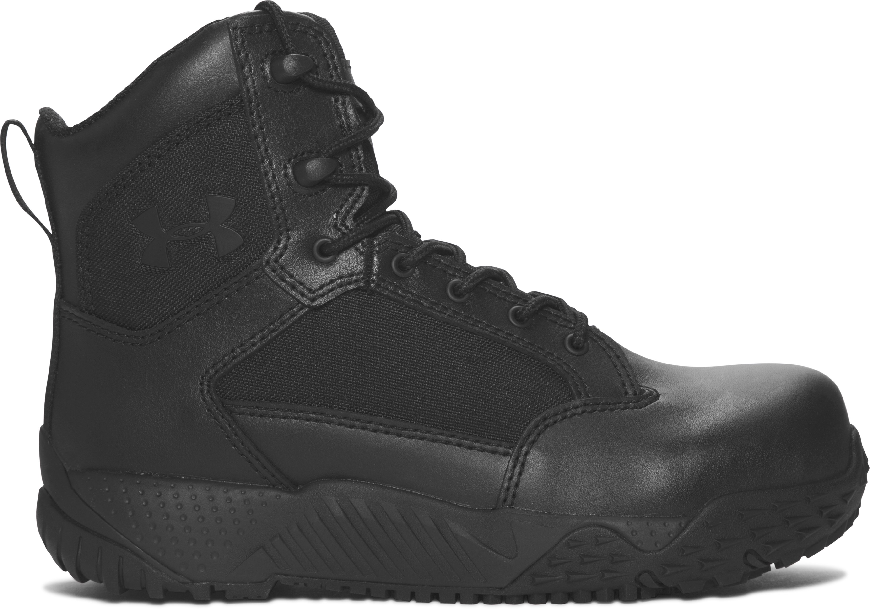 Women's UA Stellar Protect Tactical Boots, Black ,
