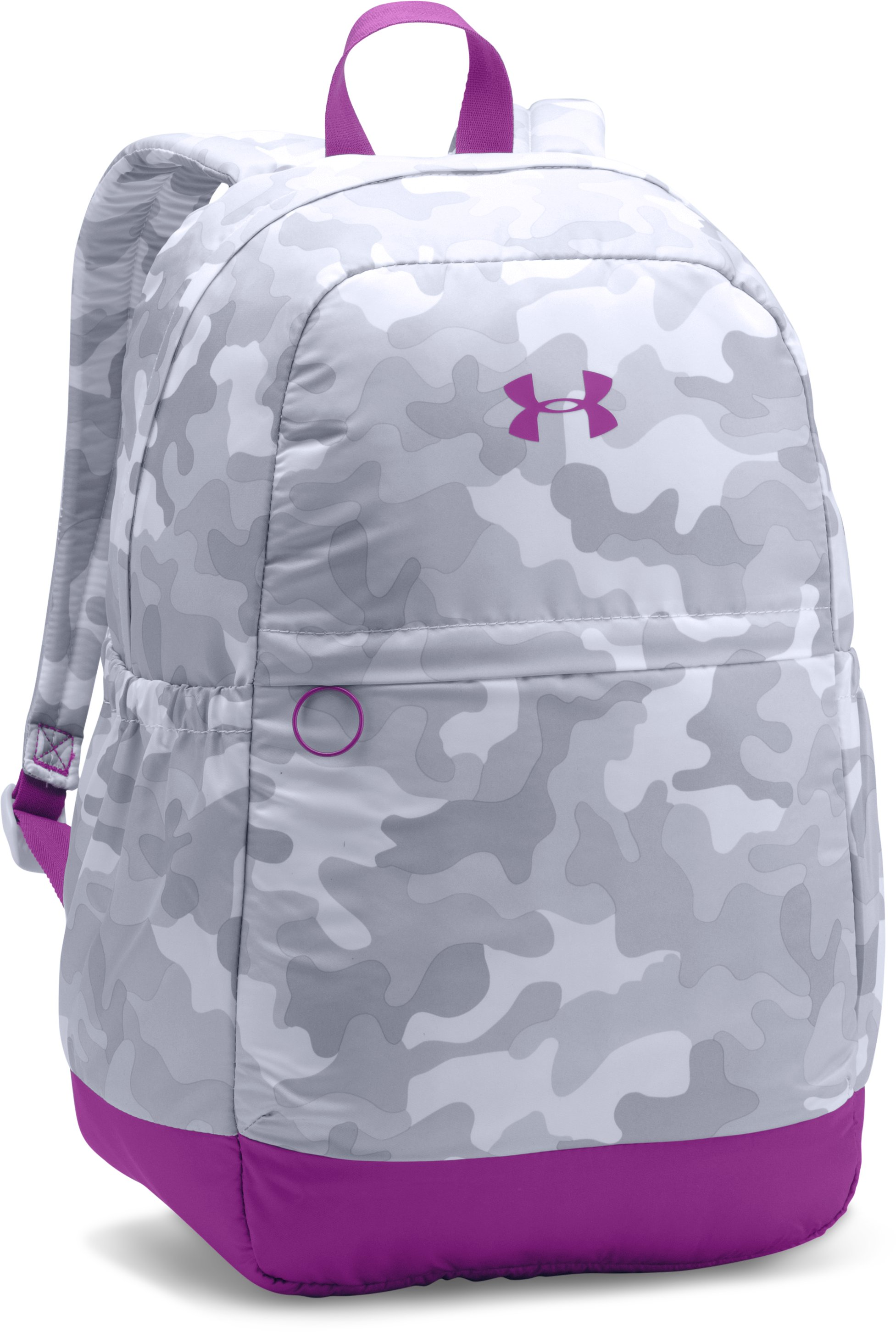 Girls' UA Favorite Backpack, White, zoomed image