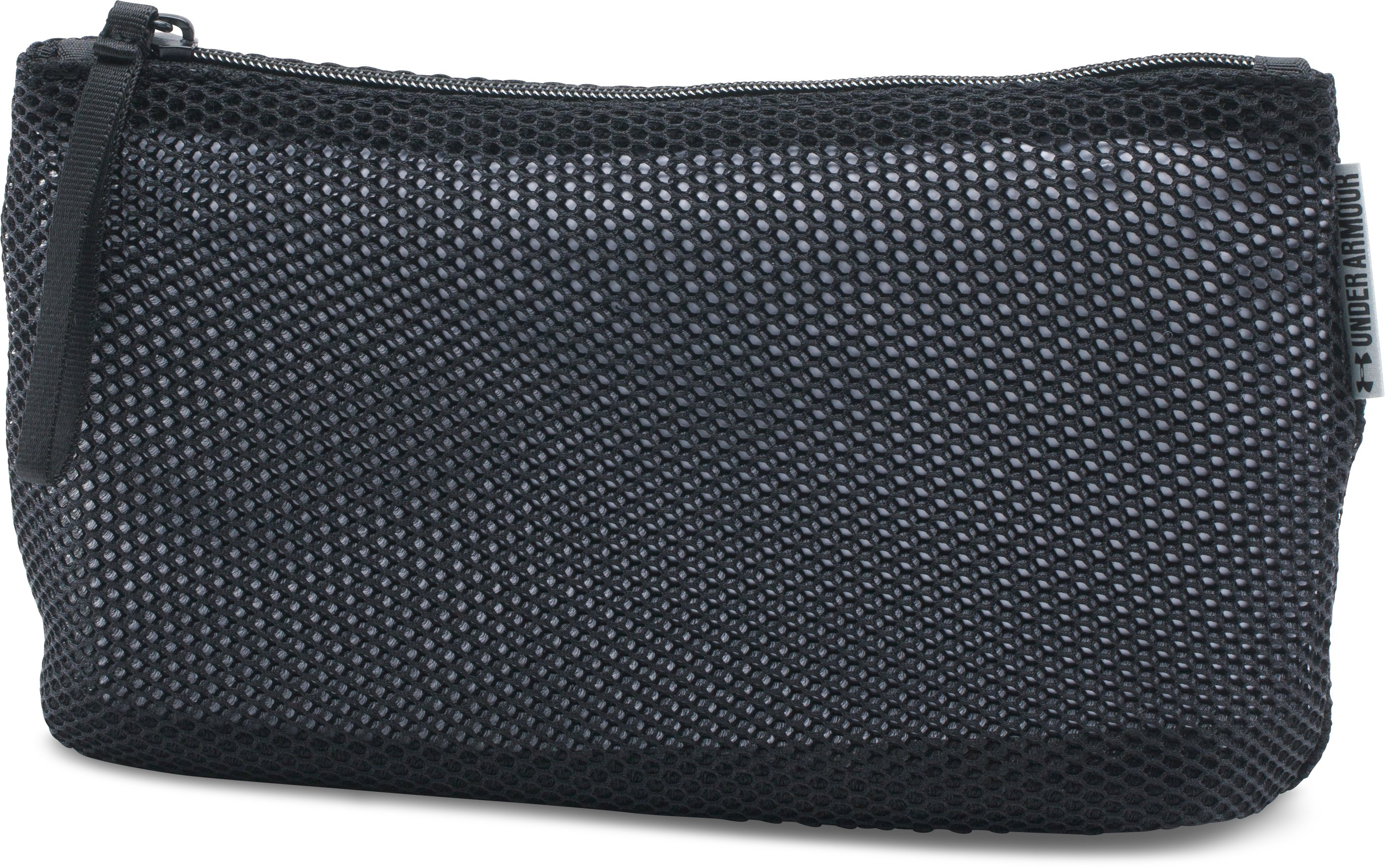Women's UA Medium Mesh Case, Black , zoomed image