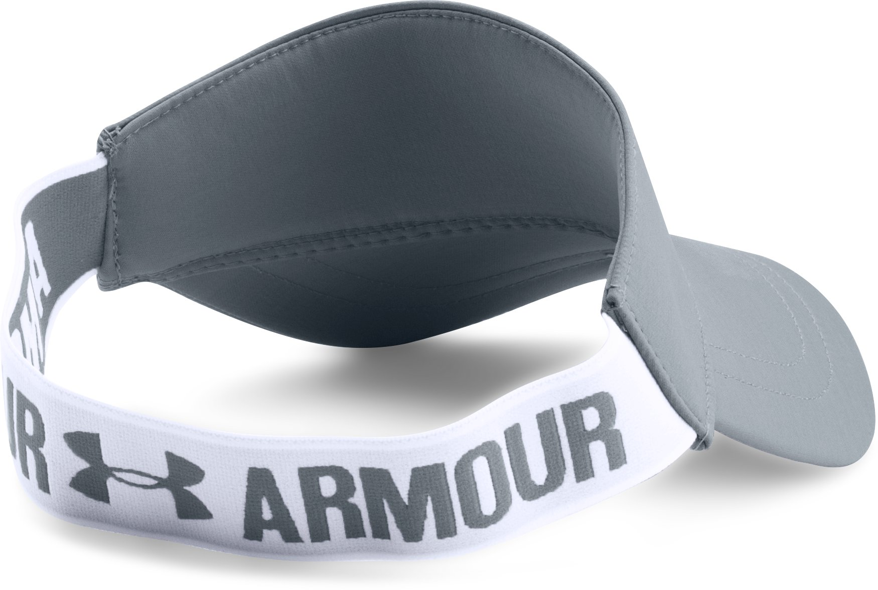 Women's UA Armour Visor, Steel,