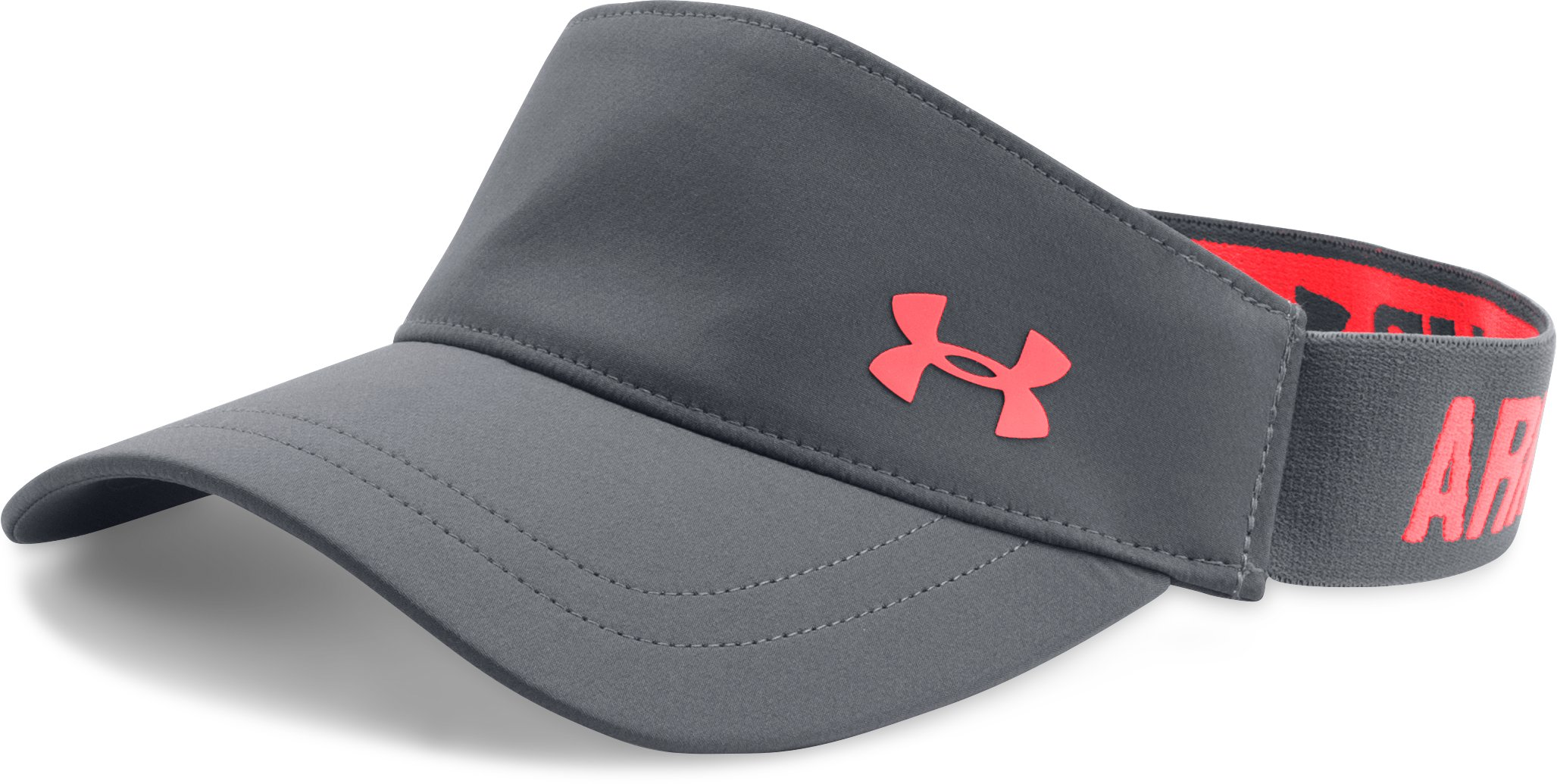 Women's UA Armour Visor, RHINO GRAY, undefined