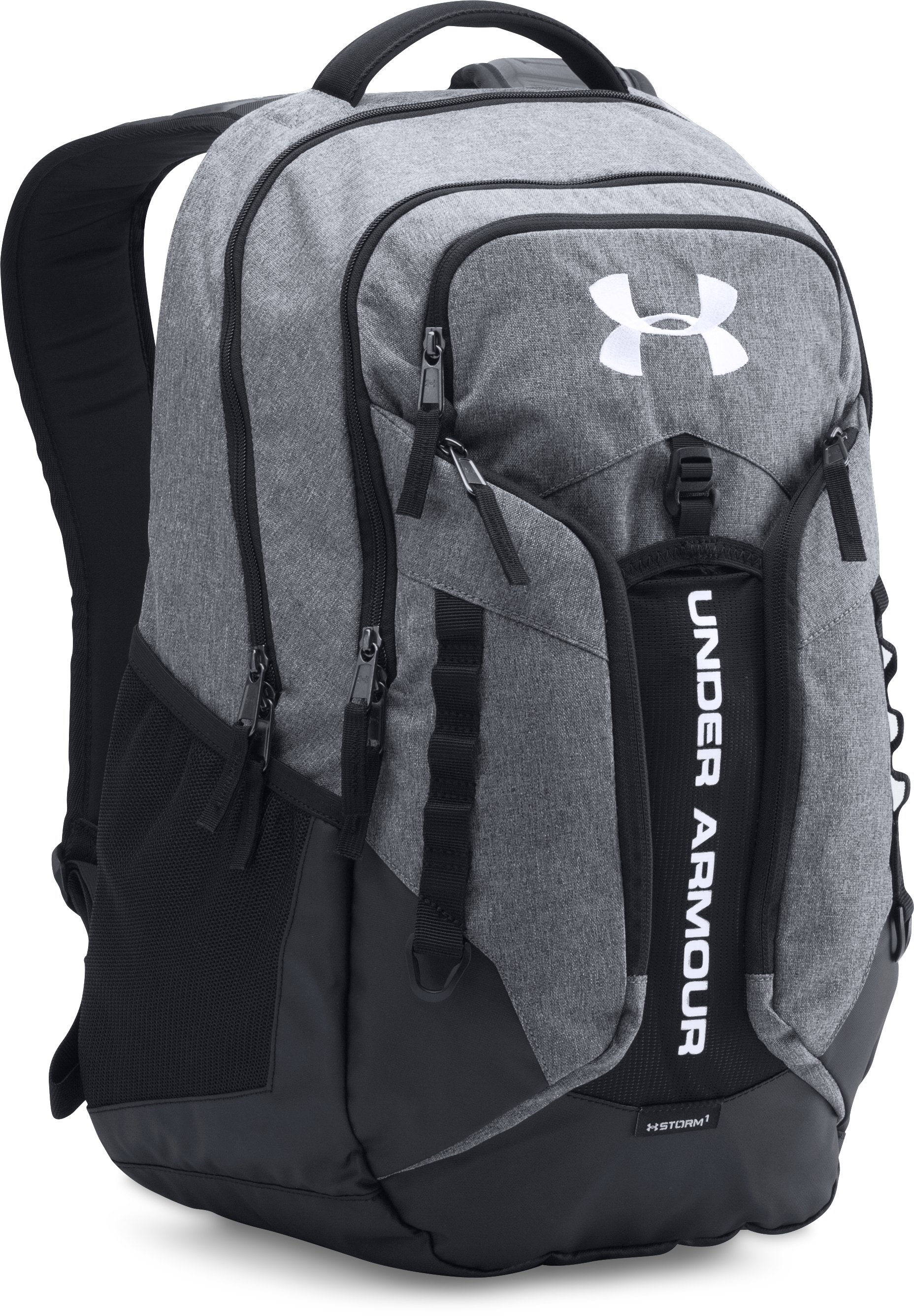 UA Storm Contender Backpack, Graphite, zoomed image
