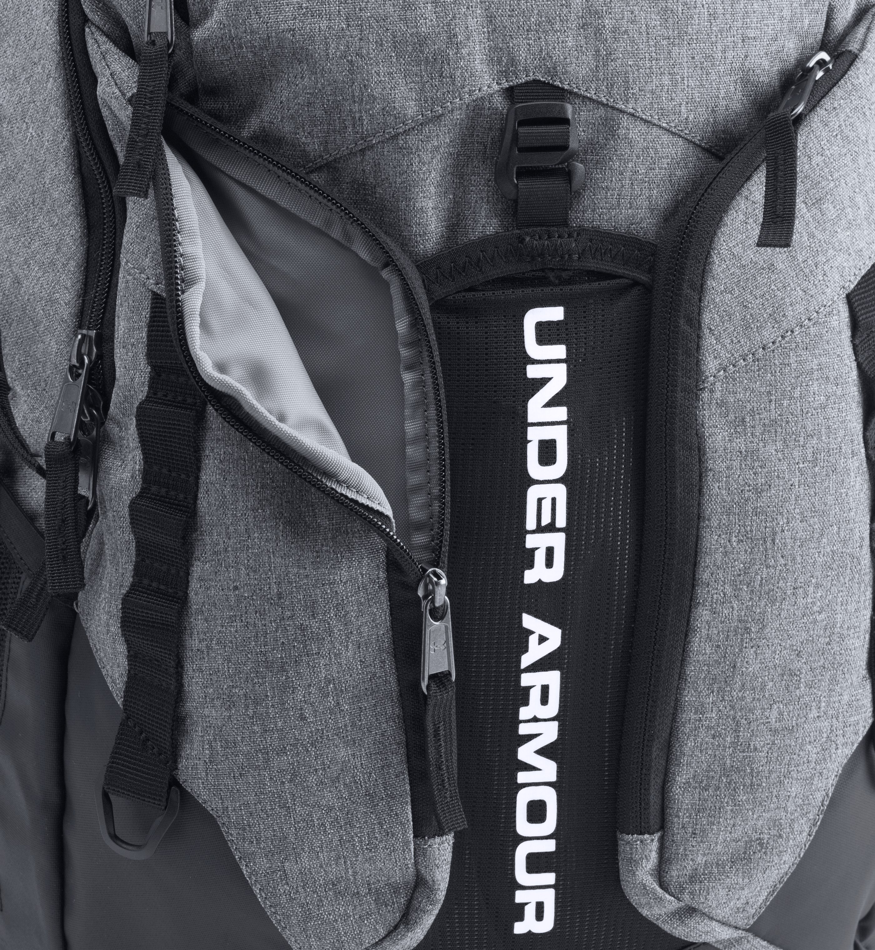 UA Storm Contender Backpack, Graphite, undefined
