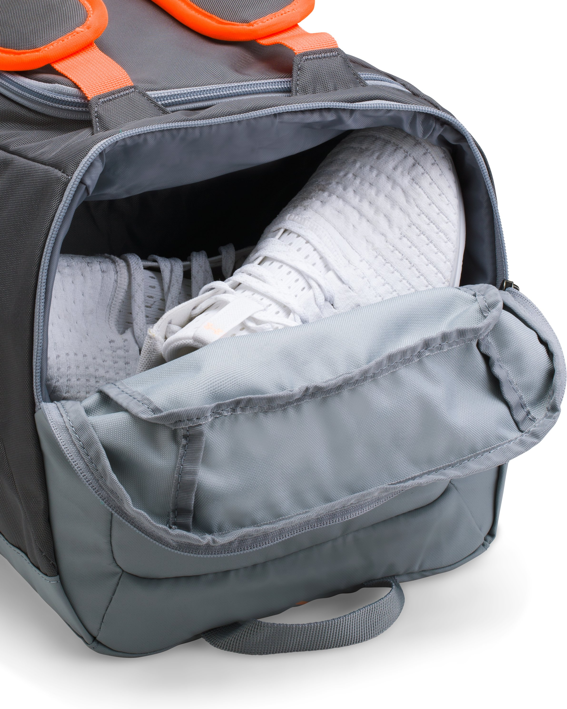 UA Storm Undeniable Backpack Duffle — Small, RHINO GRAY, undefined