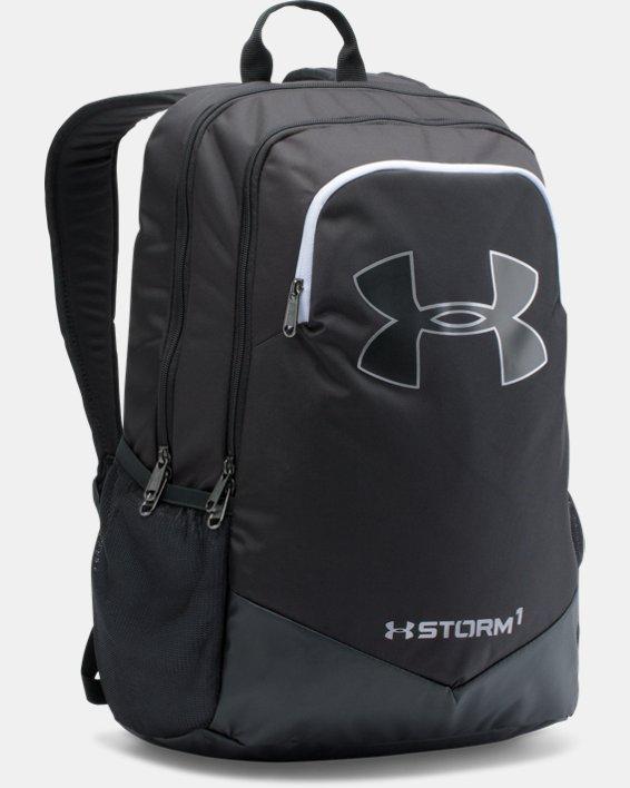 Boys' UA Storm Scrimmage Backpack, Black, pdpMainDesktop image number 0