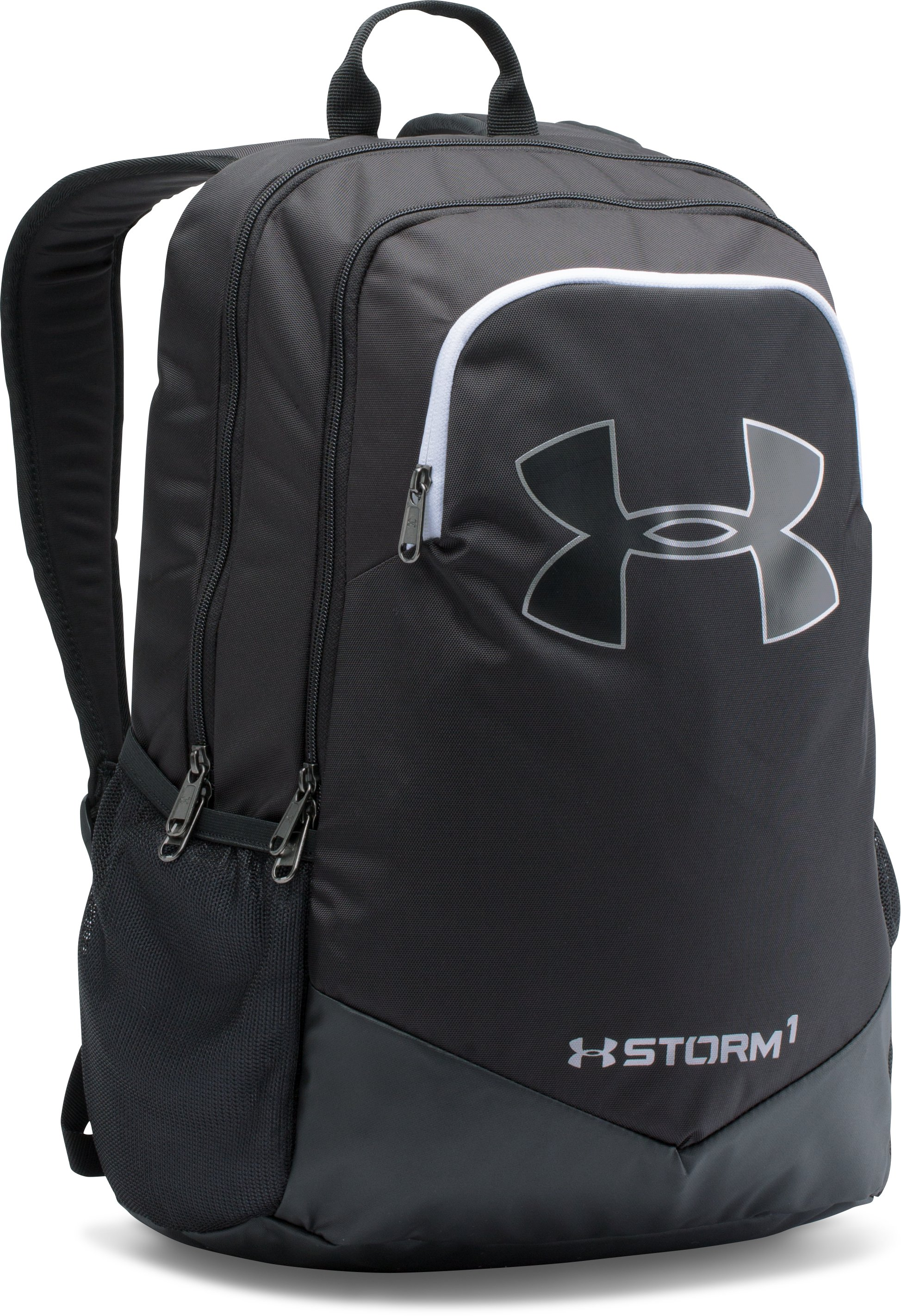 Boys' UA Storm Scrimmage Backpack, Black ,