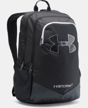 Best Seller  Boys' UA Storm Scrimmage Backpack  1  Color Available $49.99