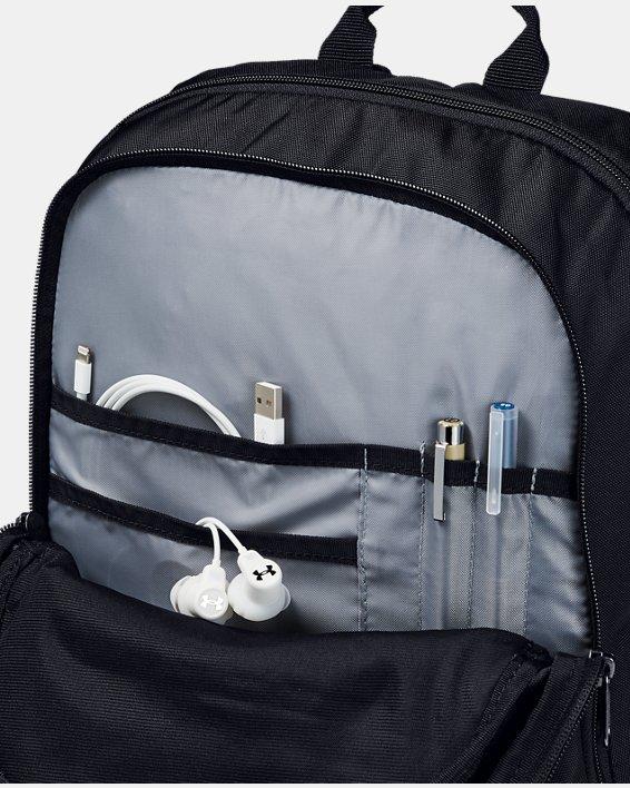 Boys' UA Storm Scrimmage Backpack, Black, pdpMainDesktop image number 4