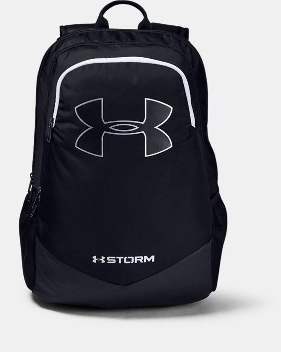 Boys' UA Storm Scrimmage Backpack, Black, pdpMainDesktop image number 2
