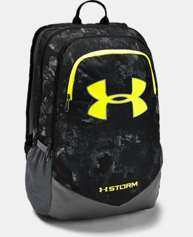 Best Seller Boys' UA Storm Scrimmage Backpack  3  Colors Available $44.99