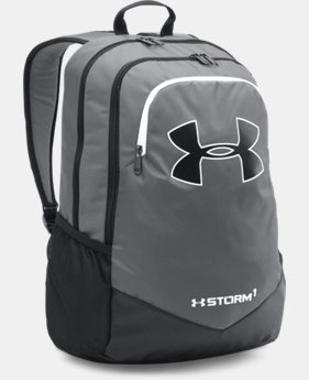 New Arrival  Boys' UA Storm Scrimmage Backpack LIMITED TIME: FREE SHIPPING 3 Colors $49.99