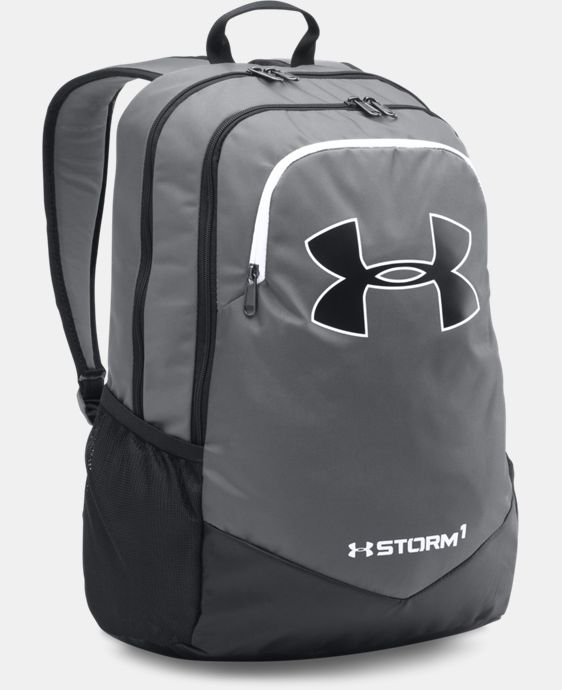 New Arrival  Boys' UA Storm Scrimmage Backpack  4 Colors $49.99