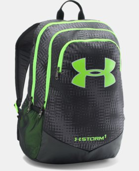 Best Seller Boys' UA Storm Scrimmage Backpack  3 Colors $44.99