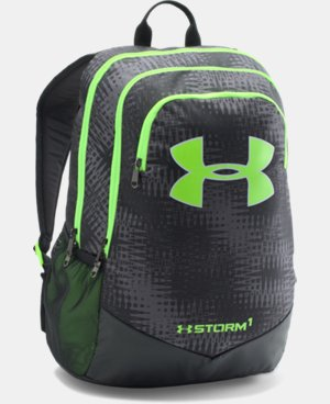 Best Seller Boys' UA Storm Scrimmage Backpack LIMITED TIME: FREE U.S. SHIPPING 2 Colors $44.99