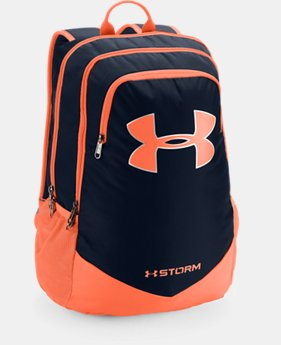 Best Seller Boys' UA Storm Scrimmage Backpack  1  Color Available $44.99