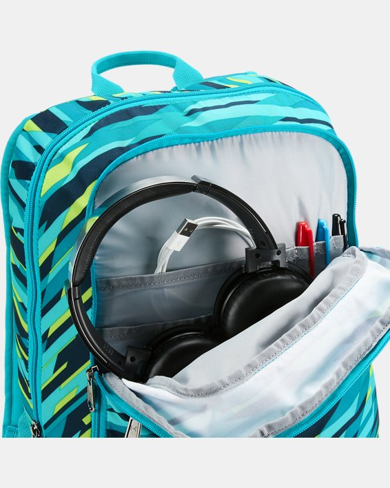 Boys' UA Storm Scrimmage Backpack, Blue, pdpMainDesktop image number 2