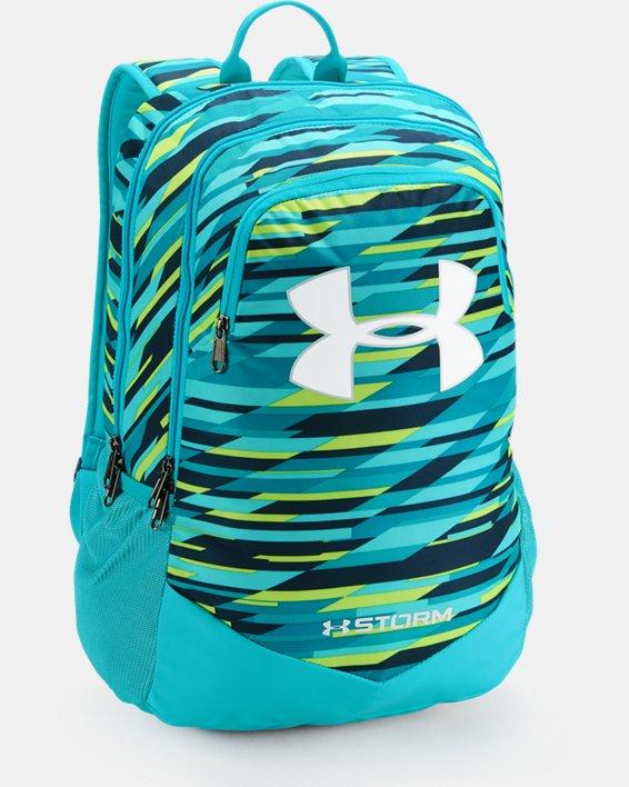 Boys' UA Storm Scrimmage Backpack, Blue, pdpMainDesktop image number 0