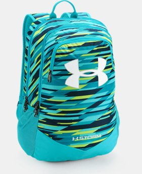 Best Seller  Boys' UA Storm Scrimmage Backpack  3  Colors Available $49.99