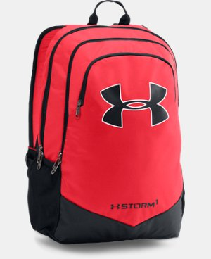 New Arrival  Boys' UA Storm Scrimmage Backpack  1 Color $49.99