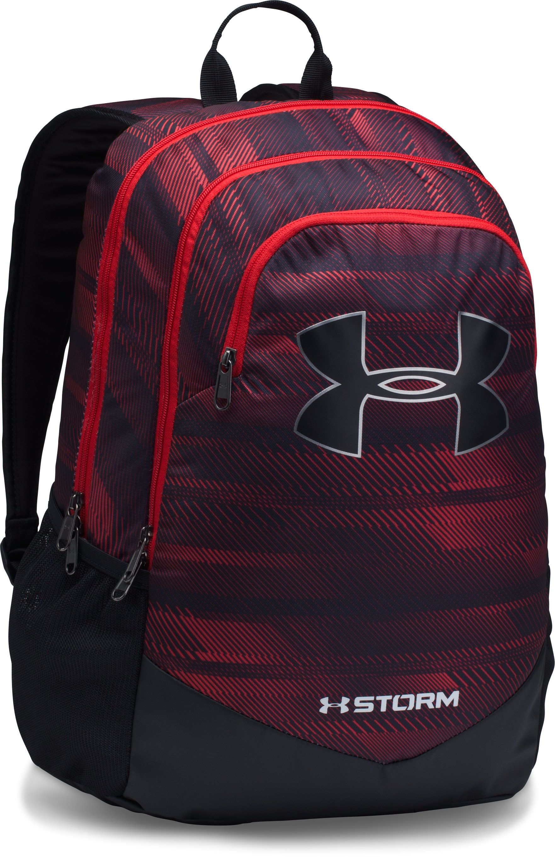 Boys' UA Storm Scrimmage Backpack, Red,