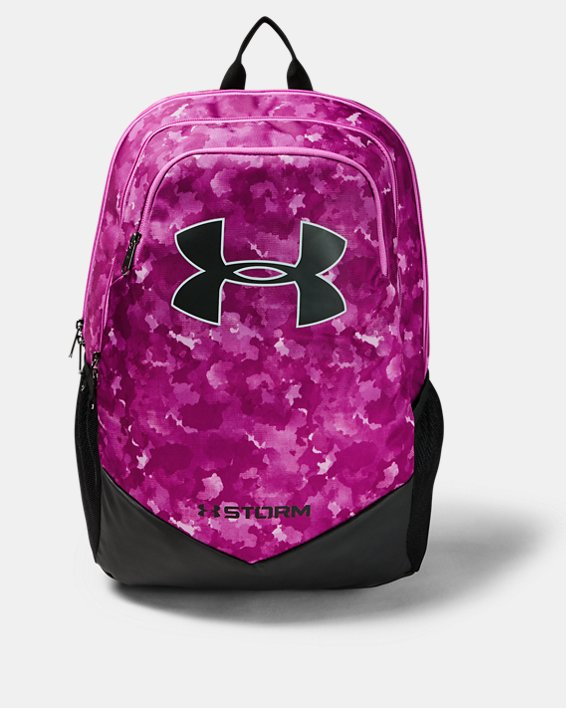 Boys' UA Storm Scrimmage Backpack, Purple, pdpMainDesktop image number 0