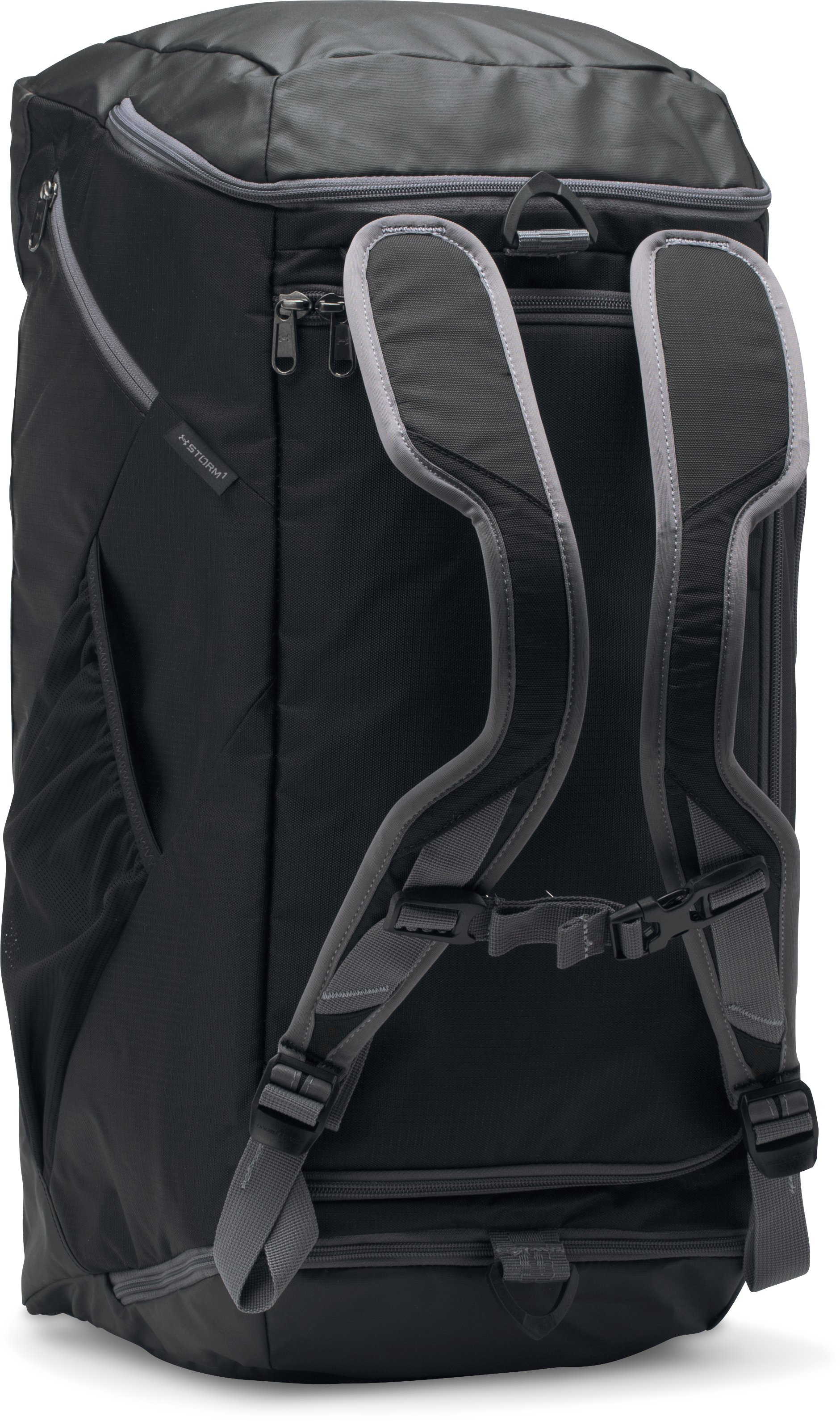 UA Storm Contain Backpack Duffle 3.0, Black , zoomed image