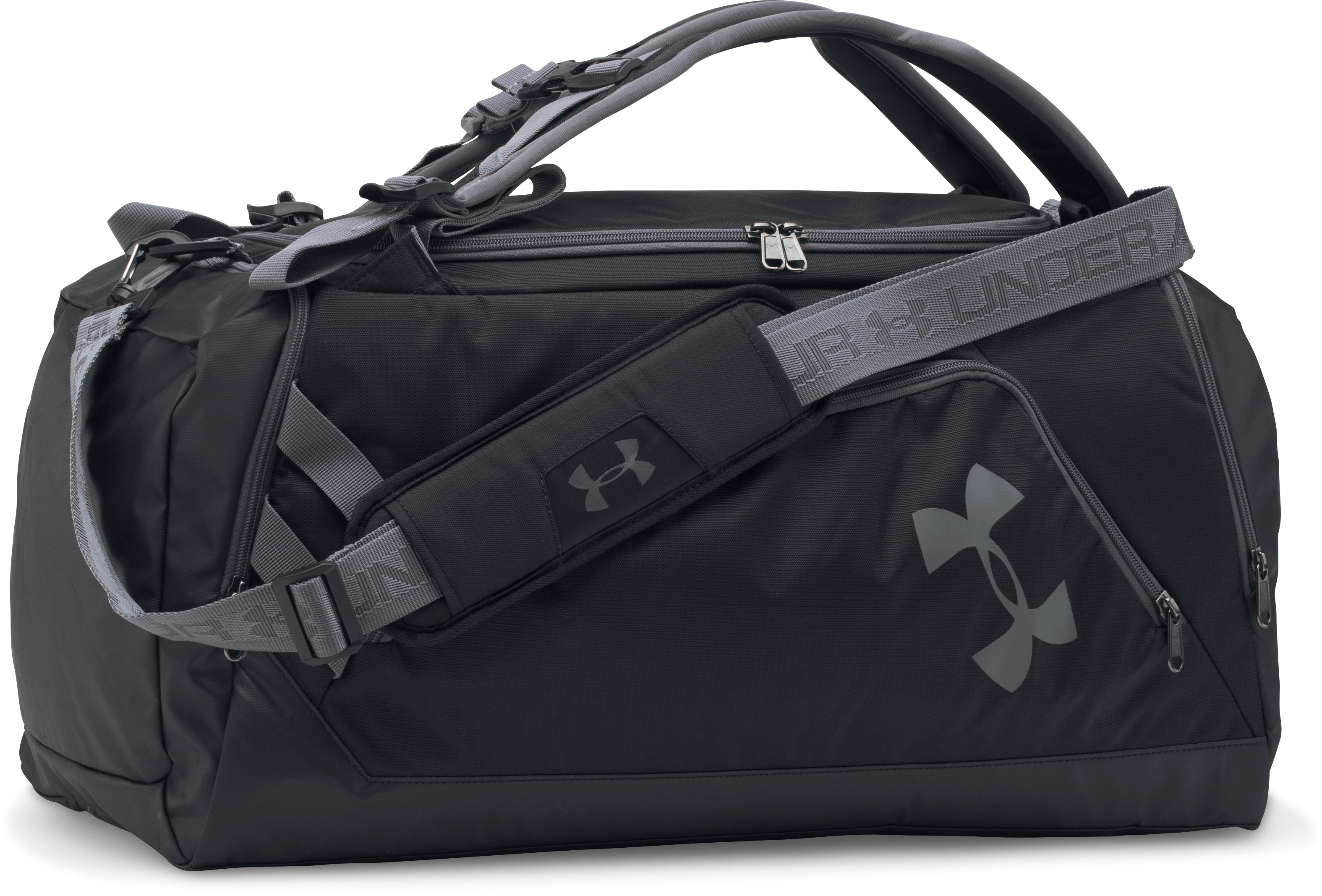 UA Storm Contain Backpack Duffle 3.0, Black ,