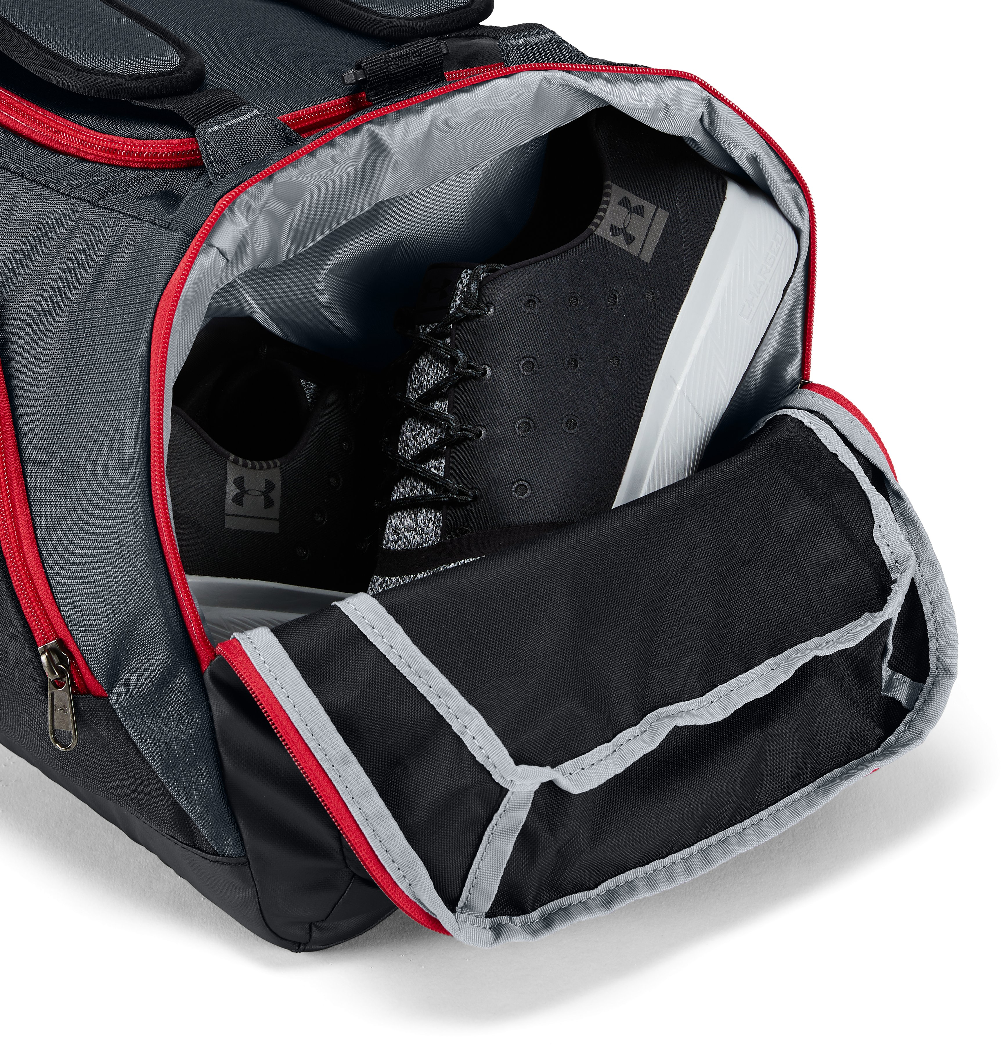 UA Storm Contain Backpack Duffle 3.0, STEALTH GRAY, undefined