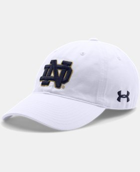 Men's Notre Dame UA Adjustable Cap