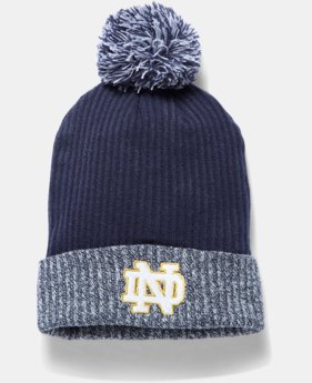 Men's Notre Dame UA Heathered Beanie