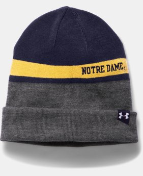 Men's Notre Dame UA 4-in-1 Beanie LIMITED TIME: FREE U.S. SHIPPING 1 Color $26.99