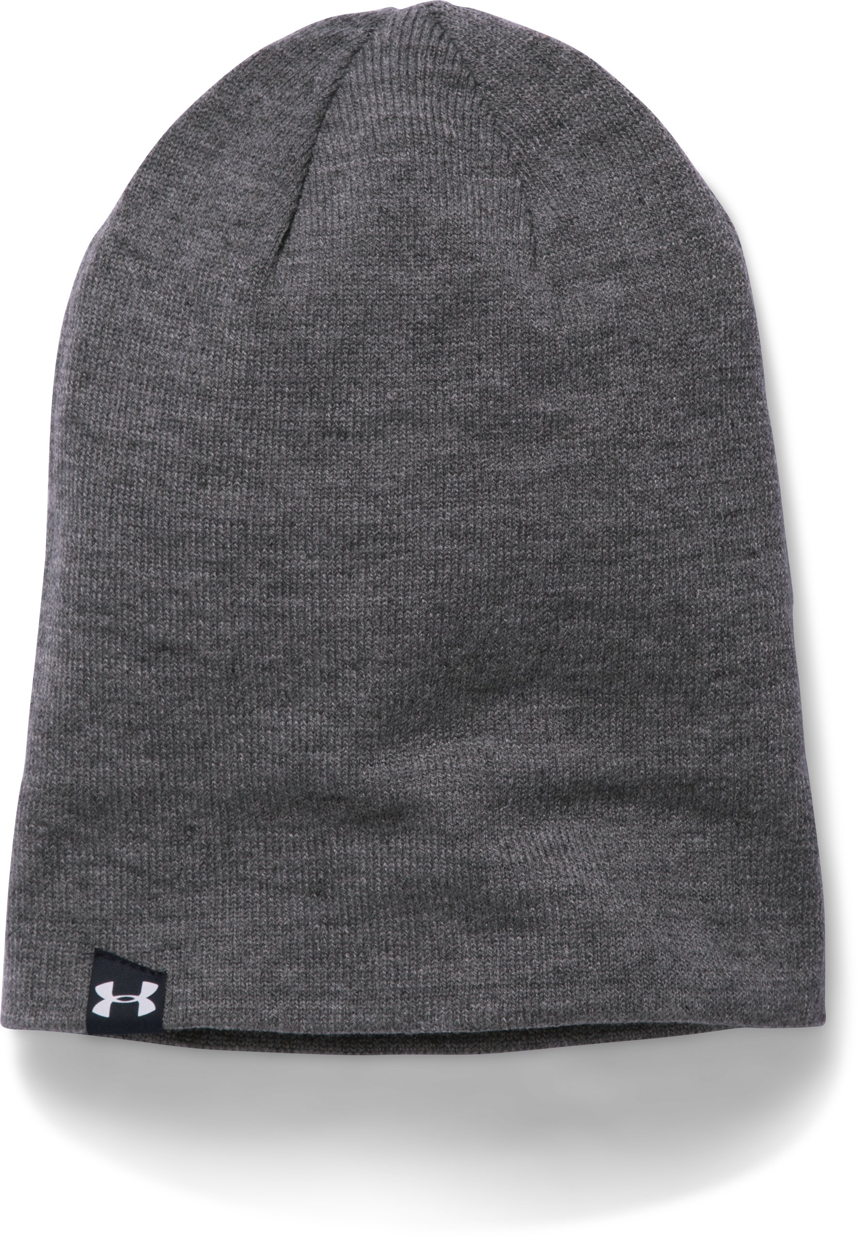 Men's Notre Dame UA 4-in-1 Beanie, Midnight Navy, undefined